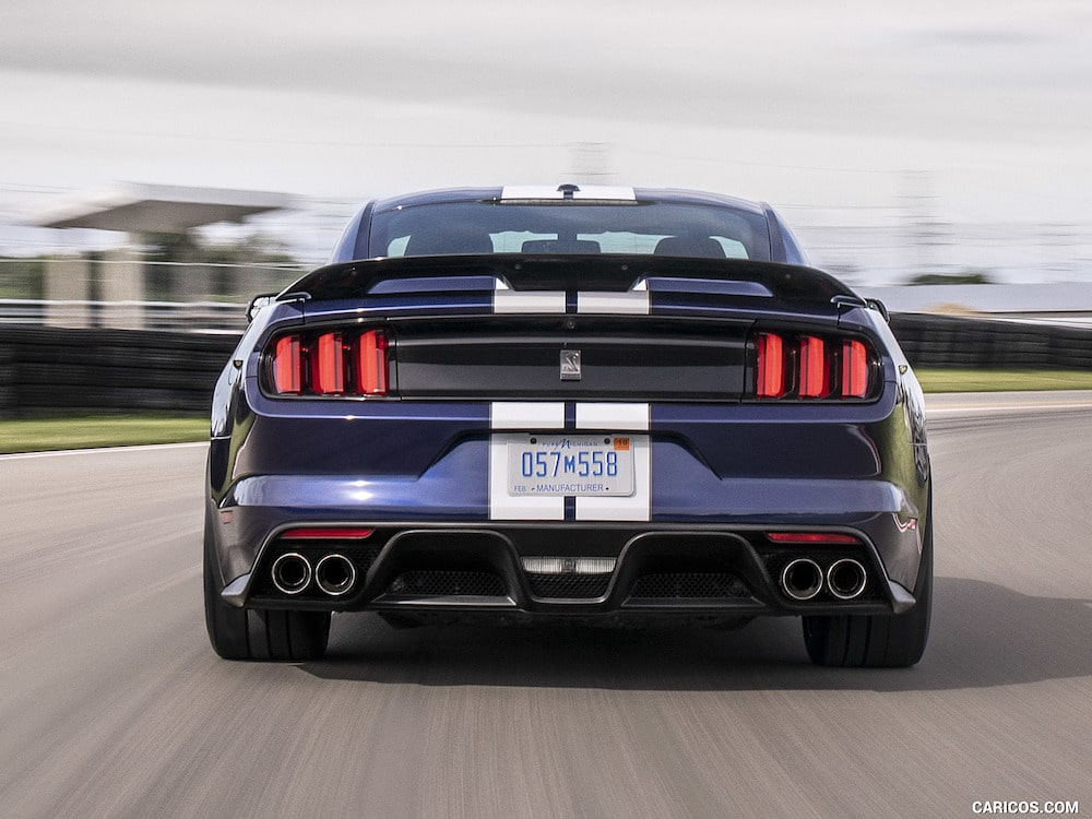 Velocidad del Ford Mustang 2019