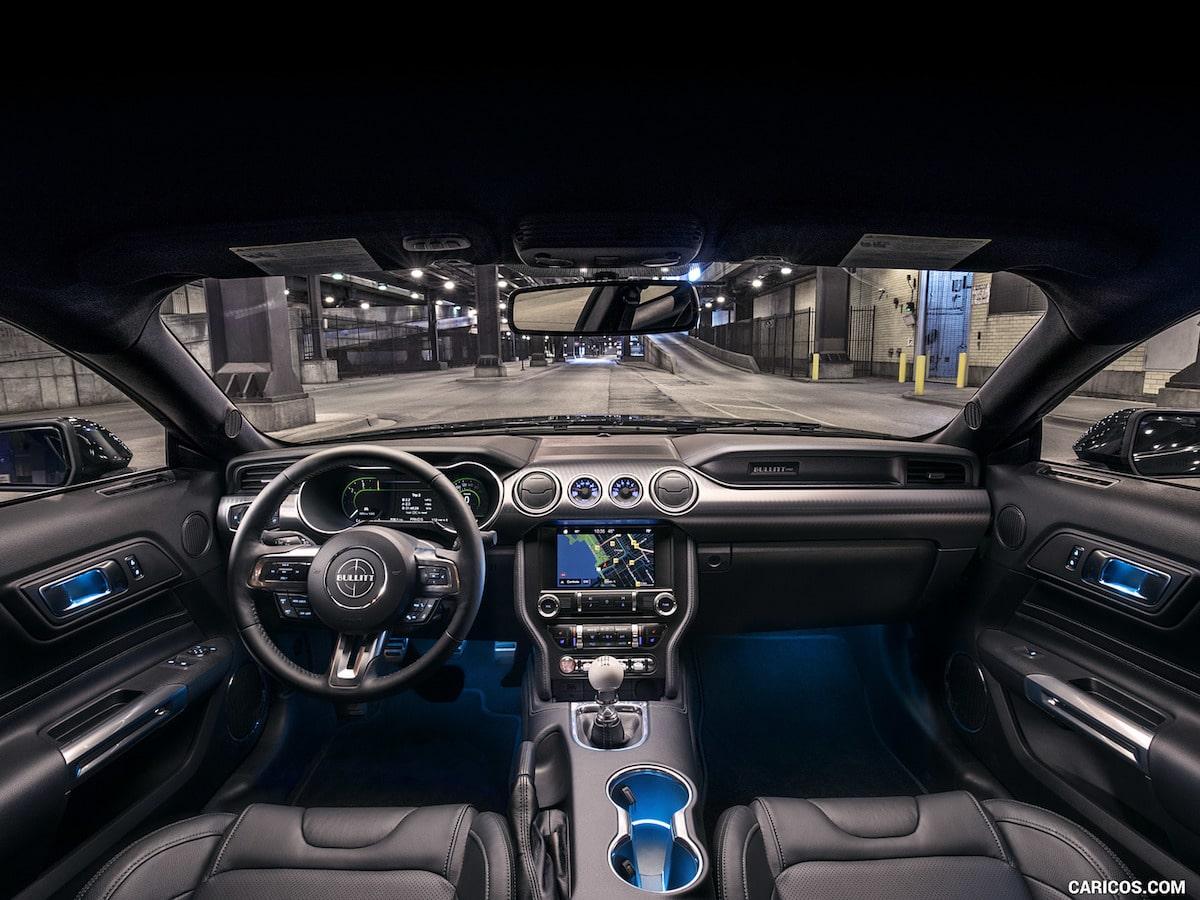 Tablero de Ford Mustang 2019