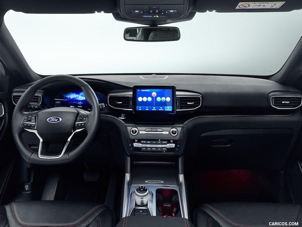 Ford Explorer y sistema de cámaras