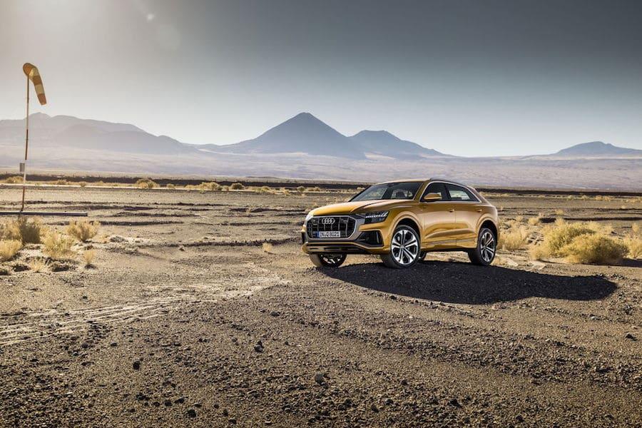 Audi Q8: lujo y comodidad