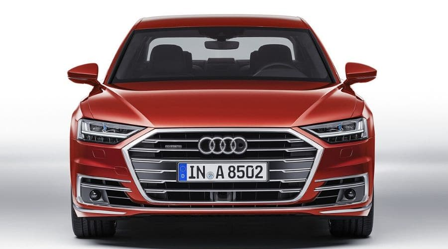 Velocidad del Audi A8
