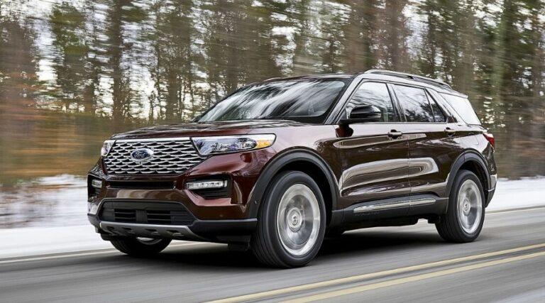 Características de Ford Explorer 2020