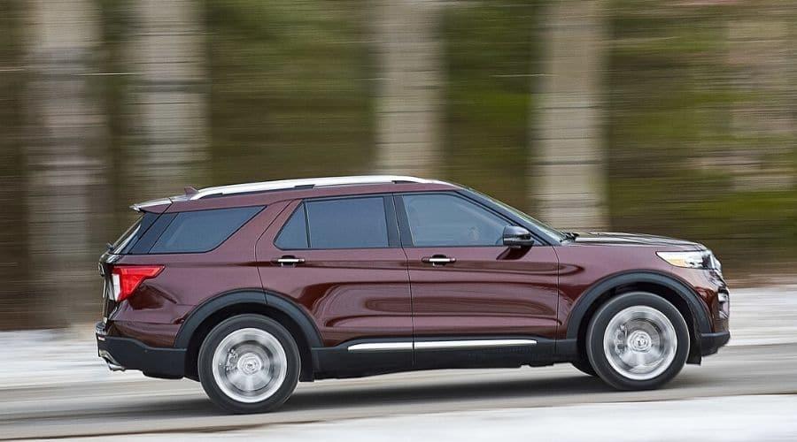Domina el camino con Ford Explorer 2020