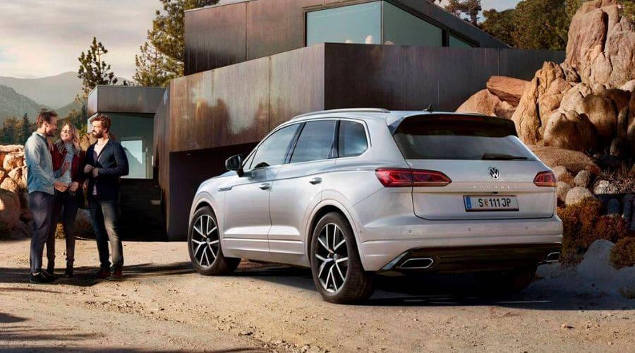 Volkswagen 2020 Nuevo Touareg es elegante