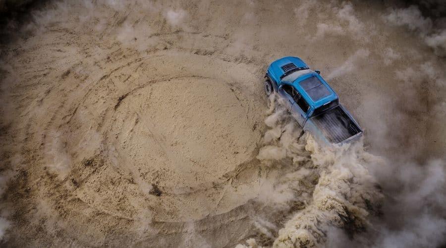 Camioneta y tecnología Ford Raptor