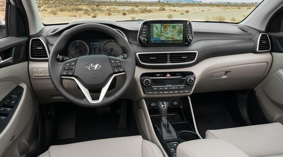 Hyundai Tucson compacta