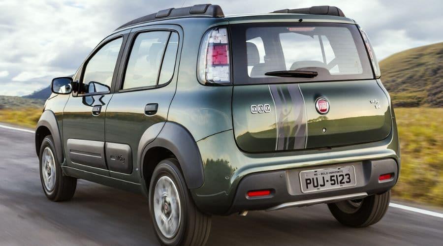 Seguridad y estilo: Fiat Uno Way