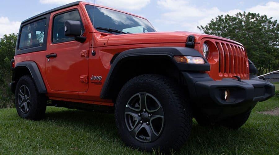 Clásico diseño exterior en la Jeep Wrangler 2020