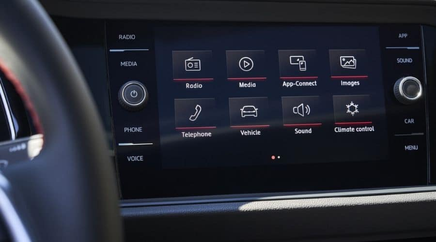 Volkswagen App-Connect del Jetta