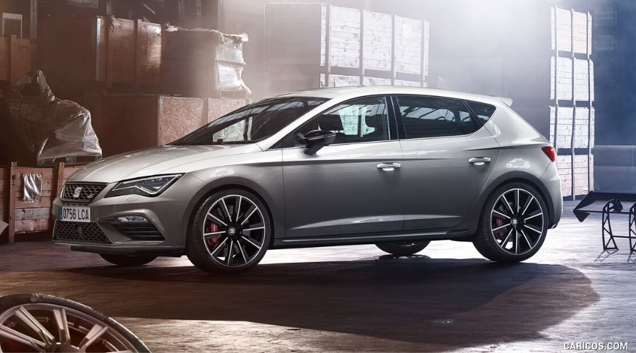 """Seat León Cupra: hatchback potente y futurista<span class=""""wtr-time-wrap after-title""""><span class=""""wtr-time-number"""">5</span> min. lectura</span>"""