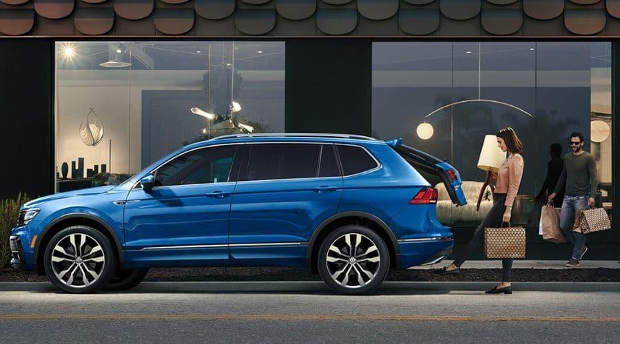 Maletero de SUV Volkswagen
