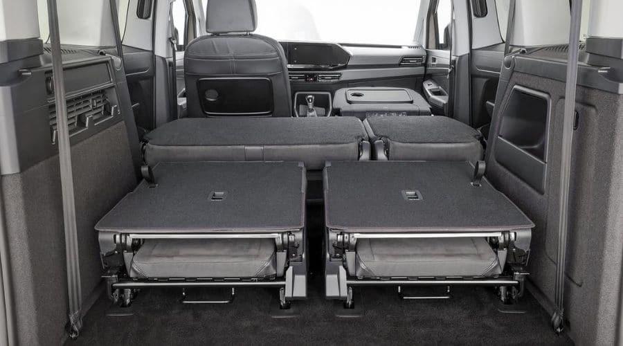 Caddy 2021 tiene mayor capacidad de carga