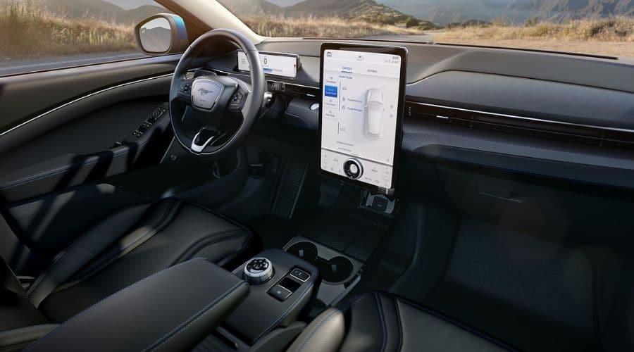 Conoce el interior de Ford Mustang Mach-E