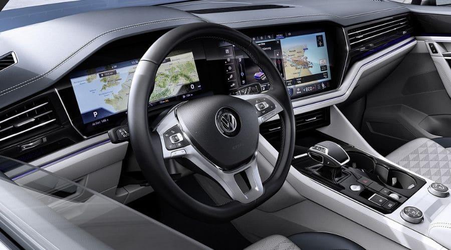 ¿Por qué amamos el interior de VW Touareg?