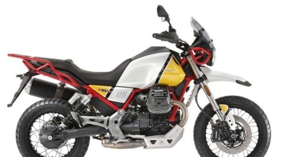 V85 TT: enduro clásica de Moto Guzzi