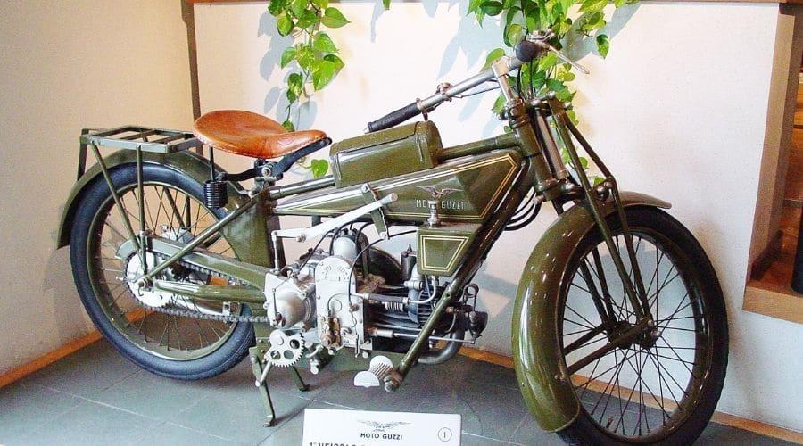 Normale: primer modelo producido por Moto Guzzi
