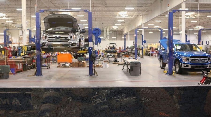 Revisión de llantas se puede hacer en taller mecánico